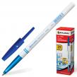 Ручка шариковая BRAUBERG , офисная, толщина письма 1 мм, синяя