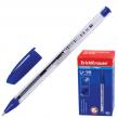Ручка шариковая масляная ERICH KRAUSE «Ultra Glide U-16», корпус прозрачный, толщина письма 0,7 мм, синяя