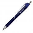 Ручка шариковая автоматическая BRAUBERG «Dash», узел 0,7 мм, линия 0,35 мм, резиновый упор, синяя