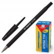 Ручка шариковая BEIFA , корпус матовый, металлический наконечник, 0,7 мм, черная