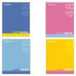 Тетрадь 48 л. BRAUBERG, клетка, обложка мелованный картон, «One Colour», 4 вида