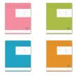 Тетрадь 18 л. «Полиграфика», линия, обложка мелованный картон, «Новая классика»