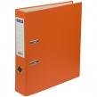 Папка-регистратор OfficeSpace, 70мм, бумвинил, с карманом на корешке, оранжевая (270119)