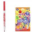 Фломастеры ароматизированные CARIOCA «Perfume xplosion», 12 цветов, смываемые