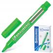 Текстмаркер BRAUBERG «Energy», круглый корпус, скошенный наконечник 1-3 мм, зеленый