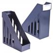 Лоток вертикальный для бумаг BRAUBERG-MAXI, ширина 100 мм, черный