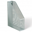 Лоток вертикальный для бумаг BRAUBERG «Germanium», металл, для бумаг формата А4, ширина 72 мм, серебристый