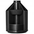 """Подставка-органайзер СТАММ """"Mini Desk"""" вращающаяся, 107*107*140 мм, 10 отделений, черная, ОР70"""