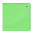Доска стеклянная магнитно-маркерная 60×80 см, зеленая, OFFICE, «2×3»