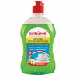 Средство для мытья посуды 500 г, ЛАЙМА PROFESSIONAL, концентрат, Зеленое яблоко (604650)