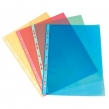 Папки-файлы, Бюрократ Премиум, ЖЕЛТЫЕ,глянцевые А4+ 30мкм, комплект 50шт (817150/2)