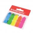 Закладки самоклеящиеся ERICH KRAUSE, пластиковые, 12×50 мм, 5 цветов х 25 л., стрелки