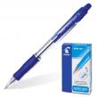 Ручка шариковая PILOT автоматическая, BPGP-10R-F «Super Grip», корпус синий, с резиновым упором, 0,32 мм, синяя