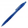 Ручка шариковая ERICH KRAUSE, автоматическая, «XR-30», корпус бело-голубой, 0,7 мм, синяя (141255)
