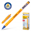Ручка шариковая масляная BRAUBERG «Oil Sharp», корпус оранжевый, толщина письма 0,5 мм, синяя