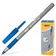 """Ручка шариковая BIC """"Раунд Стик Экзакт"""", синяя, тонкая линия(141767)"""