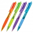 Ручка шариковая масляная автоматическая BRAUBERG «Fruity RD», ассорти, узел 0,7 мм, линия 0,35 мм, синяя (142700)