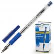 Ручка шариковая BEIFA, корпус прозрачный, металлический наконечник, 0,7 мм, синяя