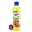 Средство для мытья пола 1 л, GLORIX «Лимонная Энергия», дезинфицирующее (600952)