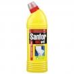 Средство для уборки туалета 750 г, SANFOR WC gel ,Лимон
