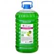Мыло жидкое 5 л, МЕЛОДИЯ, Зеленое яблоко, с глицерином, пэт (604788)