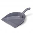 Совок для мусора,  IDEA, эконом, пластик, цвет серый/серо-голубой, М 5190 (601326)