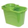 Ведро 9,5 л, с отжимом, IDEA, пластиковое, цвет зеленый