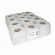 Бумага туалетная быт., спайка 12 шт., (12 рулонов х 44 м), серая, на втулке (128322)