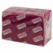 Салфетки бумажные 400 шт., 24×24 см, ЛАЙМА, Big Pack, бордовые, 100% целлюлоза (111793)