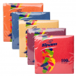 Салфетки «Перышко», 24×24 см, 50 шт., цвет интенсив, ассорти