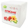 Салфетки ЛАЙМА, 24×24 см, 100 шт., белые, 100% целлюлоза