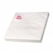 Салфетки бумажные, 20 шт., 33×33 см, 3-х слойные, NEGA, белые, 56022 (127930)