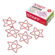 Скрепки STAFF «Звезда», 20 шт., в картонной коробке