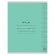 Тетрадь 12 л., ЮНЛАНДИЯ КЛАССИЧЕСКАЯ, клетка, обложка картон, зеленая (105638)