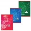 Тетрадь 96 л., А4, STAFF, эконом, офсет №2, клетка, мелованный картон, «Эксклюзив»