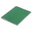 Тетрадь бумвинил, А4, 96 л., скоба, офсет №1, клетка, STAFF, Зеленый (403409)