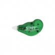 Корректирующая лента STAFF, 5 мм х 3 м, корпус зеленый, с подкручиванием (226810)