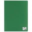 Папка 10 вкладышей STAFF, зеленая, 0,5 мм (225691)