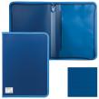 Папка на молнии пластиковая BRAUBERG, Сontract , А4, 335×242 мм, внутренний карман, синяя