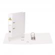 Папка-регистратор BRAUBERG  с двухсторонним покрытием из ПВХ, 70 мм, белая