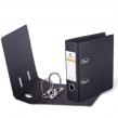 Папка-регистратор BRAUBERG , А5, вертикальная, с двухсторонним покрытием из ПВХ, 70 мм, черная