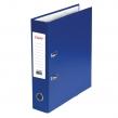 Папка-регистратор STAFF, Manager с покрытием из ПВХ, 70 мм, без уголка, синяя (225207)