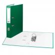 Папка-регистратор STAFF эконом, с покрытием из ПВХ, 50 мм, без уголка, зеленая
