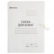 Папка для бумаг с завязками картонная BRAUBERG, 440 г/м2, до 200 листов (110926)