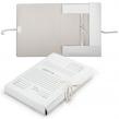 Папка для бумаг с завязками картонная, 40 мм, гарантированная плотность 380 г/м2, 4 завязки, до 350 листов (122035)
