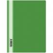 Скоросшиватель пластиковый OfficeSpace, А4, 160мкм, зеленый (162562)