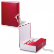 Короб архивный, бумвинил, 7 см, 2 х/б завязки, цвет ассорти, до 600 л