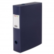 Короб архивный (330×245 мм), 70 мм, пластик, разборный, до 750 листов, синий, 0,7 мм, STAFF, (237274)