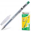 Ручка гелевая BRAUBERG «Jet», корпус прозрачный, толщина письма 0,5 мм, зеленая