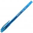Ручка гелевая BRAUBERG Income, корпус тонированный, игольчатый узел 0,5 мм, линия письма 0,35 мм, синяя (141516)